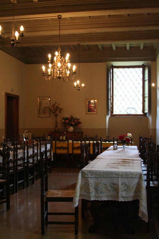 Villa Rospigliosi dining hall