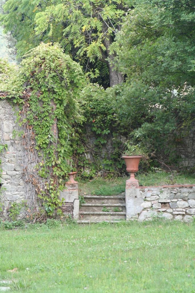 Back garden, Villa Rospigliosi