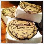 Old-fashioned lard soap